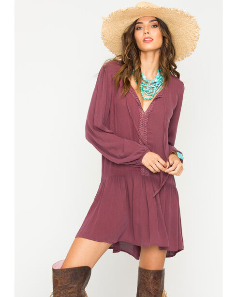 Sage the Label Women's Mauve Bowie Dress , Mauve, hi-res