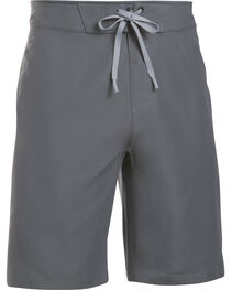 Under Armour Men's Charcoal Grey Mania Board Shorts, , hi-res