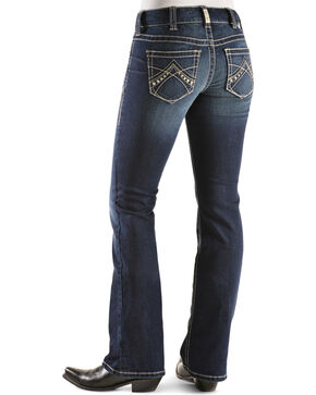 Ariat Women's Real Denim Spitfire Boot Cut Riding Jeans, Denim, hi-res