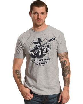 Moonshine Spirit Men's 3 Cords & The Truth Logo Tee, Heather Grey, hi-res