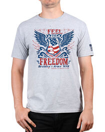 Brothers & Arms Men's Feel The Freedom Graphic Tee, , hi-res