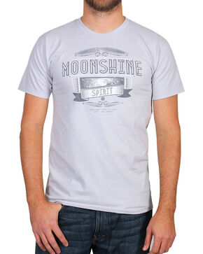 Moonshine Spirit® Men's Grit and Grim Short Sleeve T-Shirt, Grey, hi-res