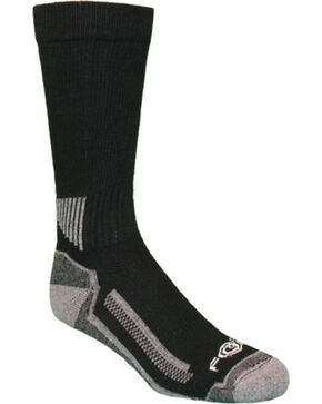 Carhartt Performance Work Crew Socks, Black, hi-res