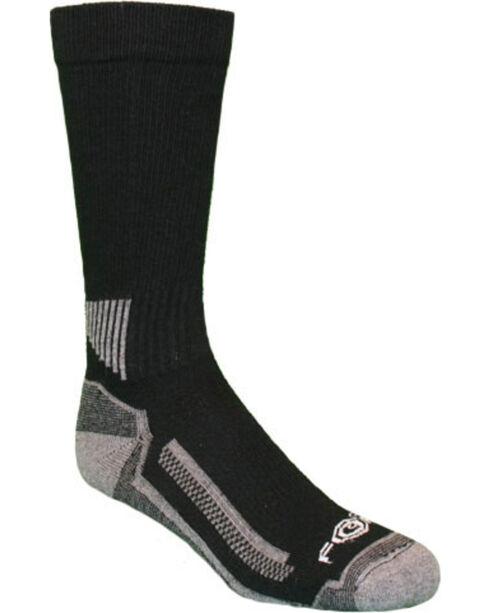 Carhartt Performance Work Crew Socks, Black, hi-res