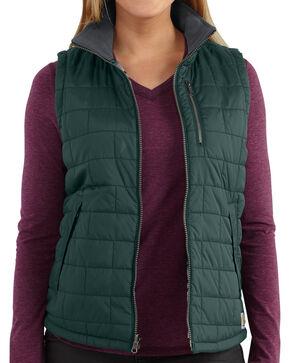 Carhartt Women's Amoret Vest, Pine, hi-res
