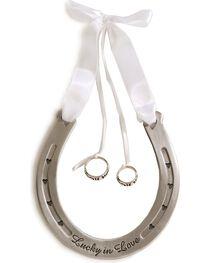 Western Wedding Ring Bearer Horseshoe, , hi-res