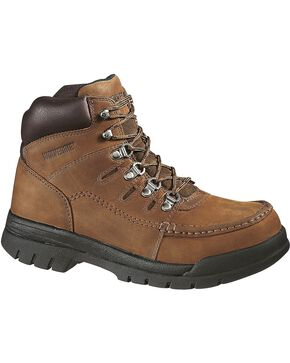 Wolverine Men's Sutton Non-Metallic Composite Toe work boot, Brown, hi-res