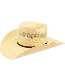 Ariat Men's 20X Twister Americana Straw Hat , , hi-res