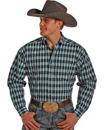 Panhandle Tuf Cooper Men's Plaid Long Sleeve Shirt, , hi-res