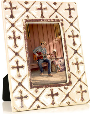 BB Ranch Ceramic Cross Frame, No Color, hi-res