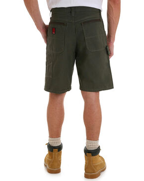 Riggs Workwear Men's Carpenter Shorts, Green, hi-res