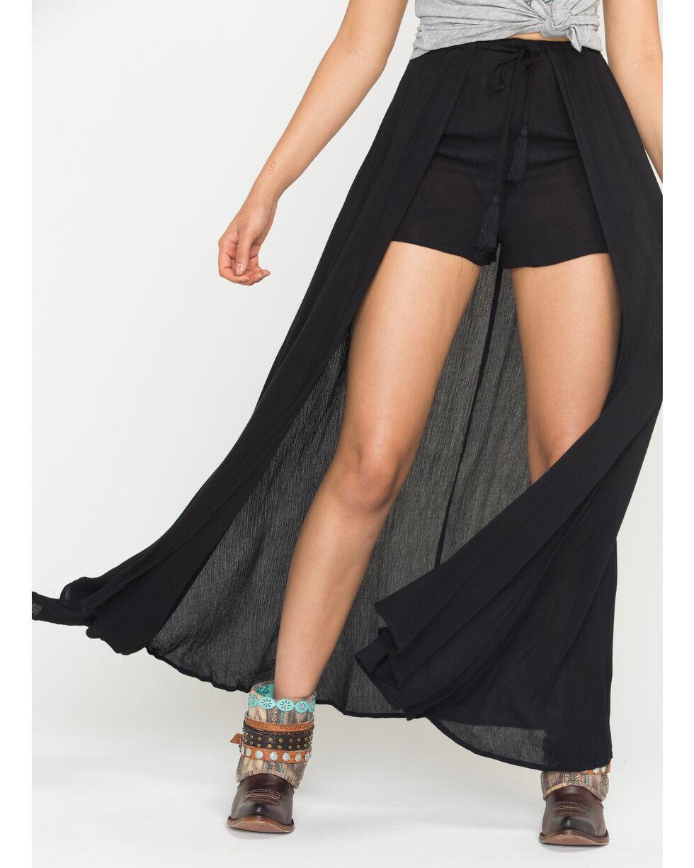 HYFVE Women's Black Beach Babe Skort , Black, hi-res