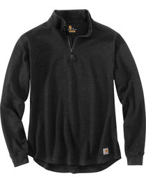 Carhartt Men's Tilden Long Sleeve Mock Neck Quarter Zip Sweatshirt, , hi-res