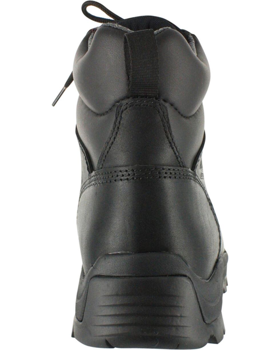 American Worker® Men's Stealth Composite Toe Work Boots, Black, hi-res