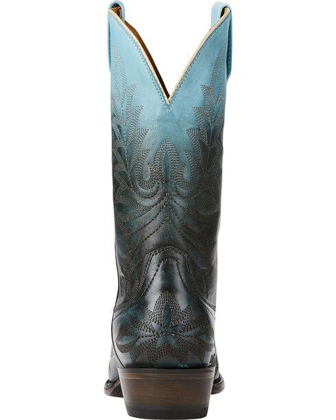 Ariat Women's Ombre X Toe Western Boots, Blue, hi-res