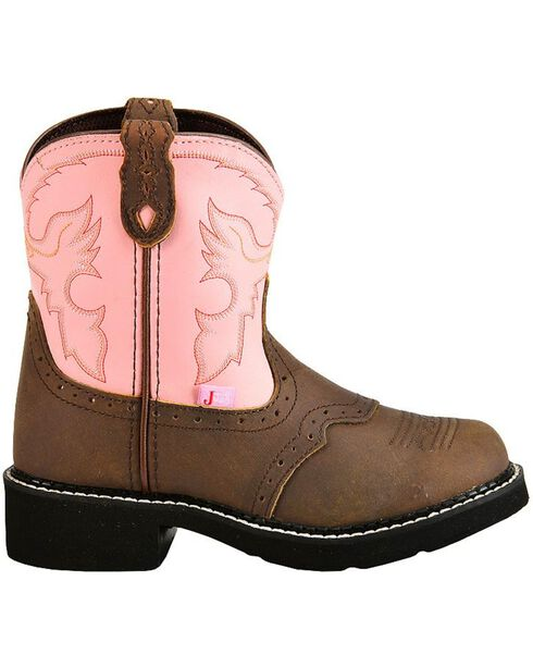 Justin Youth Gypsy Western Boots, Bay Apache, hi-res