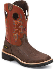 Tony Lama Men's 3R Comp Toe Work Boots, , hi-res