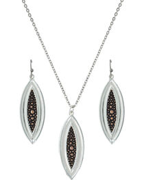 Montana Silversmiths River Pebbles at Sunset Jewelry Set, , hi-res