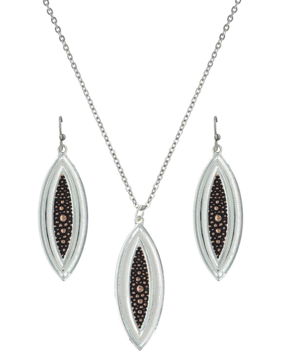 Montana Silversmiths River Pebbles at Sunset Jewelry Set, Multi, hi-res