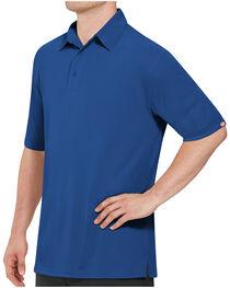 Red Kap Men's Performance Knit Flex Series Polo Shirt , , hi-res