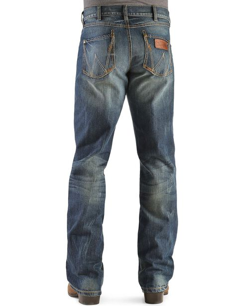 Wrangler Retro Relaxed Fit Dusk Stitch Bootcut Jeans - Tall, Dusk, hi-res