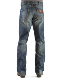 Wrangler Retro Relaxed Fit Dusk Stitch Bootcut Jeans, , hi-res