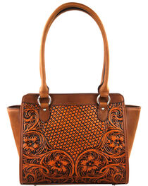 Montana West Brown Delila 100% Genuine Leather, , hi-res