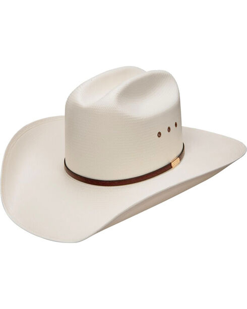 Stetson Hats Women's Maddock Comfort Straw Hat, Natural, hi-res