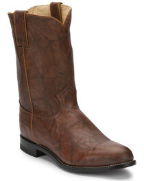 Justin Men's Deerlite Roper Western Boots, , hi-res