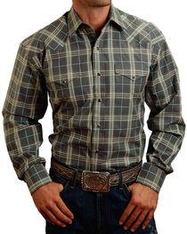 Stetson Men's Plaid Patterned Long Sleeve Shirt, , hi-res