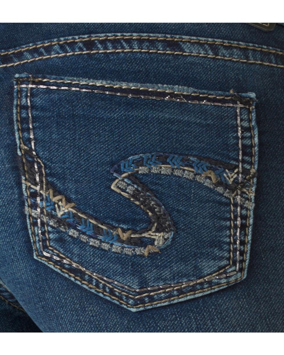 Silver Women's Suki Mid Super Skinny Joga Jeans, Denim, hi-res