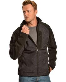 Cinch Black and Grey Logo Jacket , , hi-res