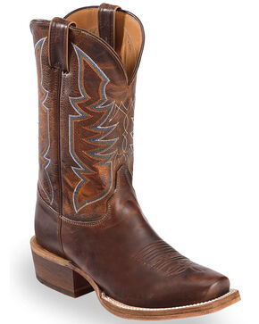 Justin Women's Navigator Western Boots, Brown, hi-res