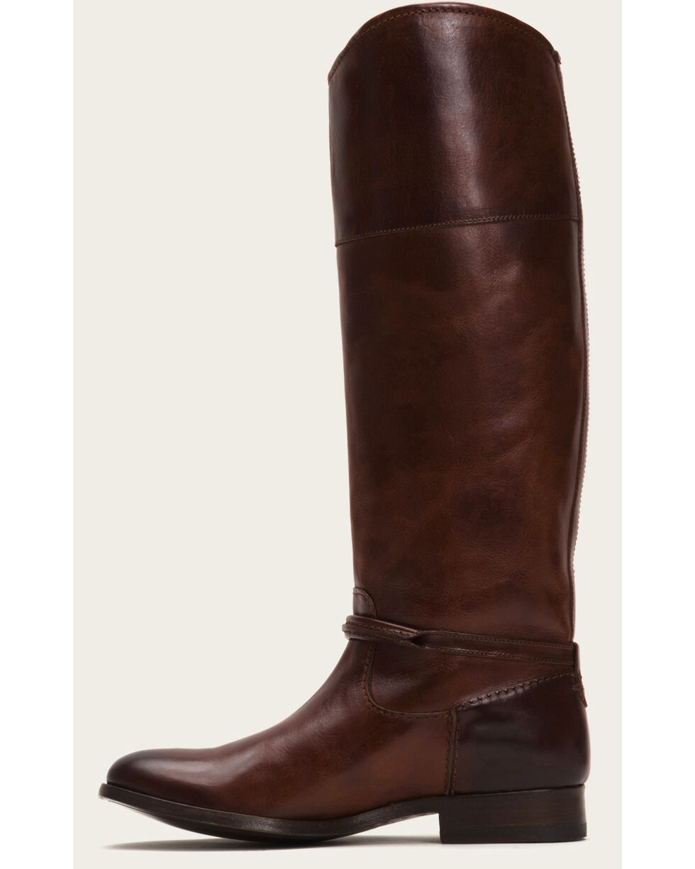 Frye Women's Brown Melissa Seam Tall Boots  , Brown, hi-res
