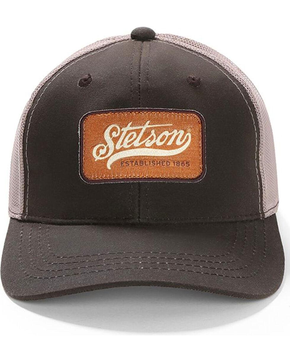 Stetson Men's Oil Skin Mesh Trucker Baseball Cap , , hi-res