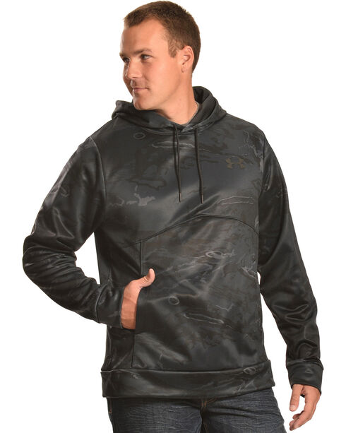 Under Armour Men's Storm Fleece Hoodie, Black, hi-res