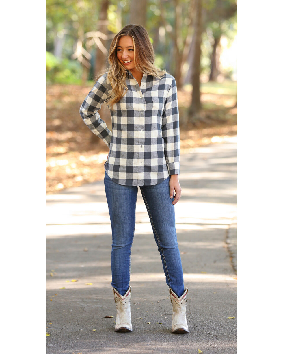 Wrangler Women's Large Check Flannel, , hi-res