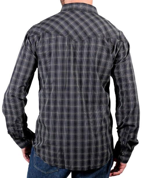 Moonshine Spirit® Men's Unforgiven Long Sleeve Shirt, Black, hi-res