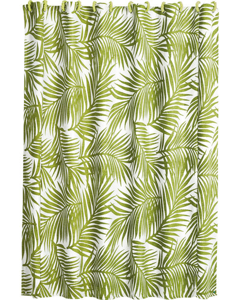 HiEnd Accents Fern Shower Curtain , Multi, hi-res