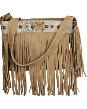 STS Ranchwear Lila Buckskin Crossbody Bag, Tan, hi-res