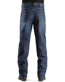 Cinch Men's Black Label Relaxed Fit Stonewash Jeans, , hi-res