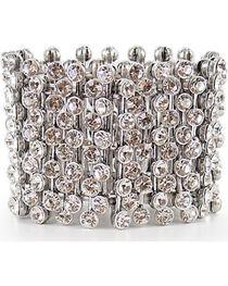 Shyanne Women's Bling Stretch Bracelet, , hi-res