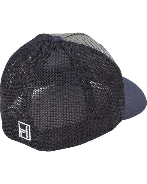 Hooey Men's Black Golf Flexfit Baseball Cap , Black, hi-res