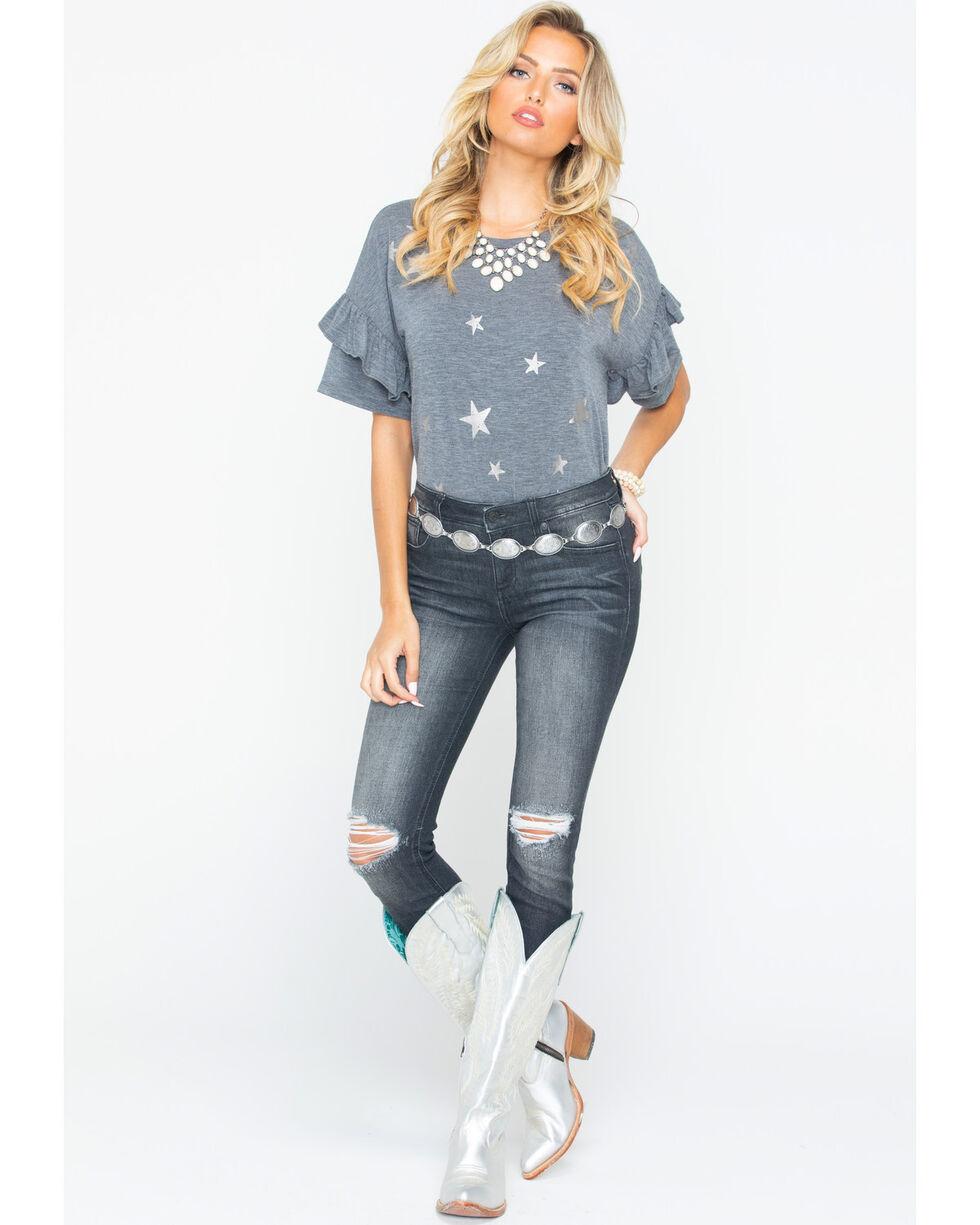 Miss Me Women's Lasting Impression Mid-Rise Skinny Jeans , Indigo, hi-res