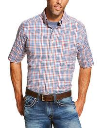 Ariat Men's Coral Maud Short Sleeve Shirt - Big and Tall , , hi-res