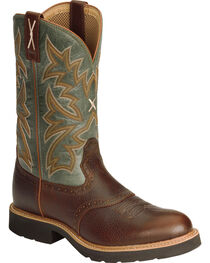 Twisted X Men's Pebble Glazed Pull-On Work Boots, , hi-res