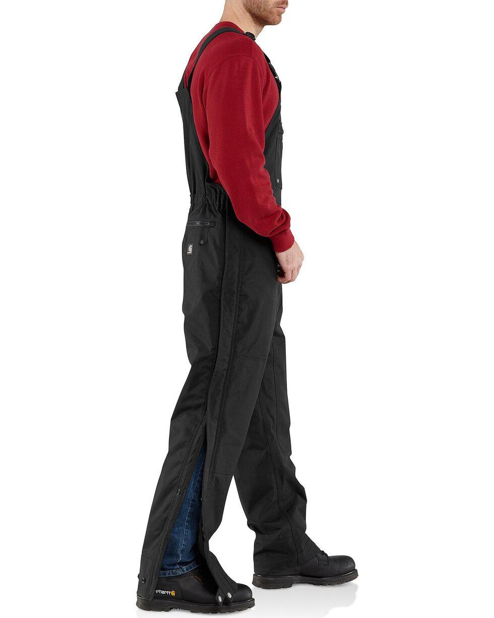 Carhartt Men's Shoreline Bib Overalls, Black, hi-res