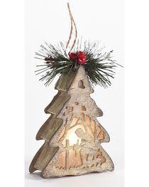 BB Ranch Kneeling Cowboy LED Ornament, , hi-res