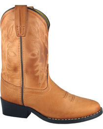 Smoky Mountain Youth Boys' Bomber Western Boots - Round Toe, , hi-res