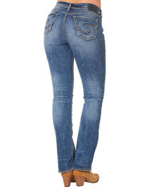 Silver Women's Suki High Slim Bootcut Dark Wash Jeans , , hi-res